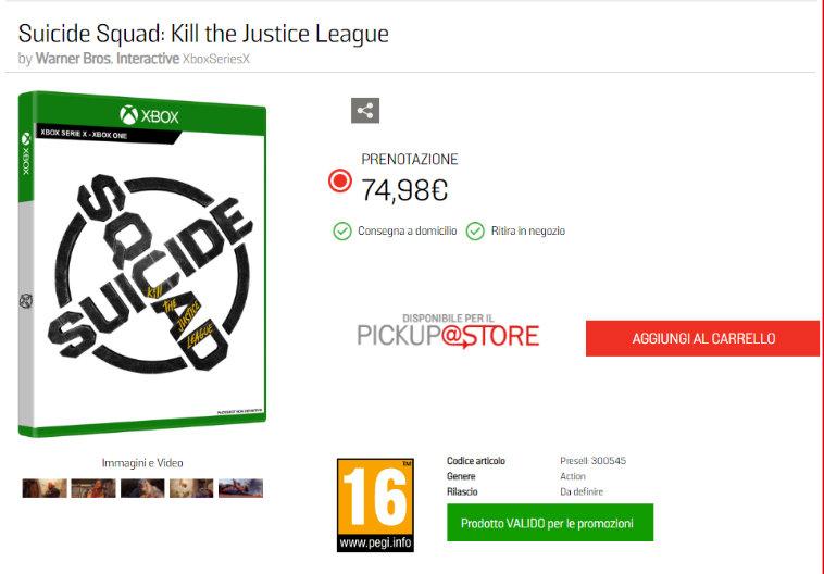 《哥谭骑士》《自杀小队》上架零售商店 售价595元