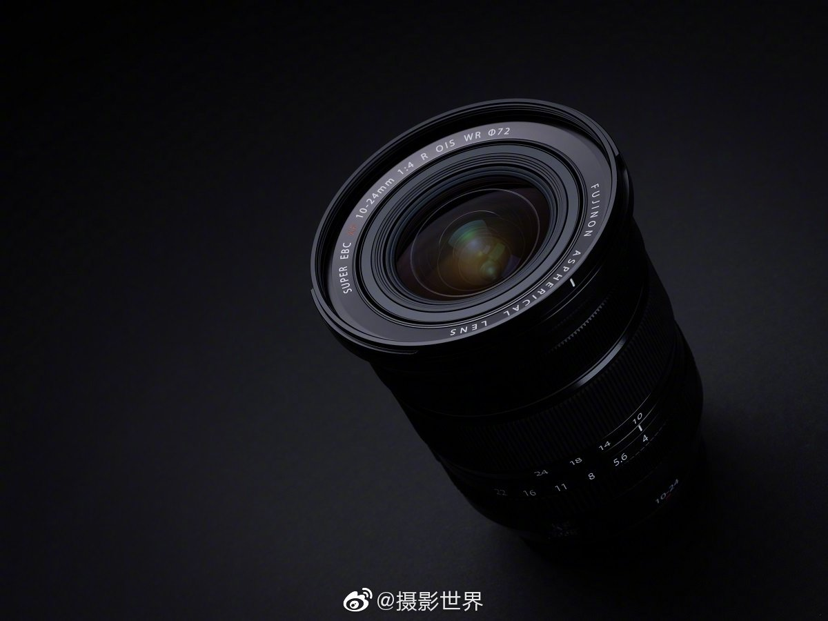 富士@富士数码影像世界 正式发布 XF10-24mmF4 R OIS WR 镜头