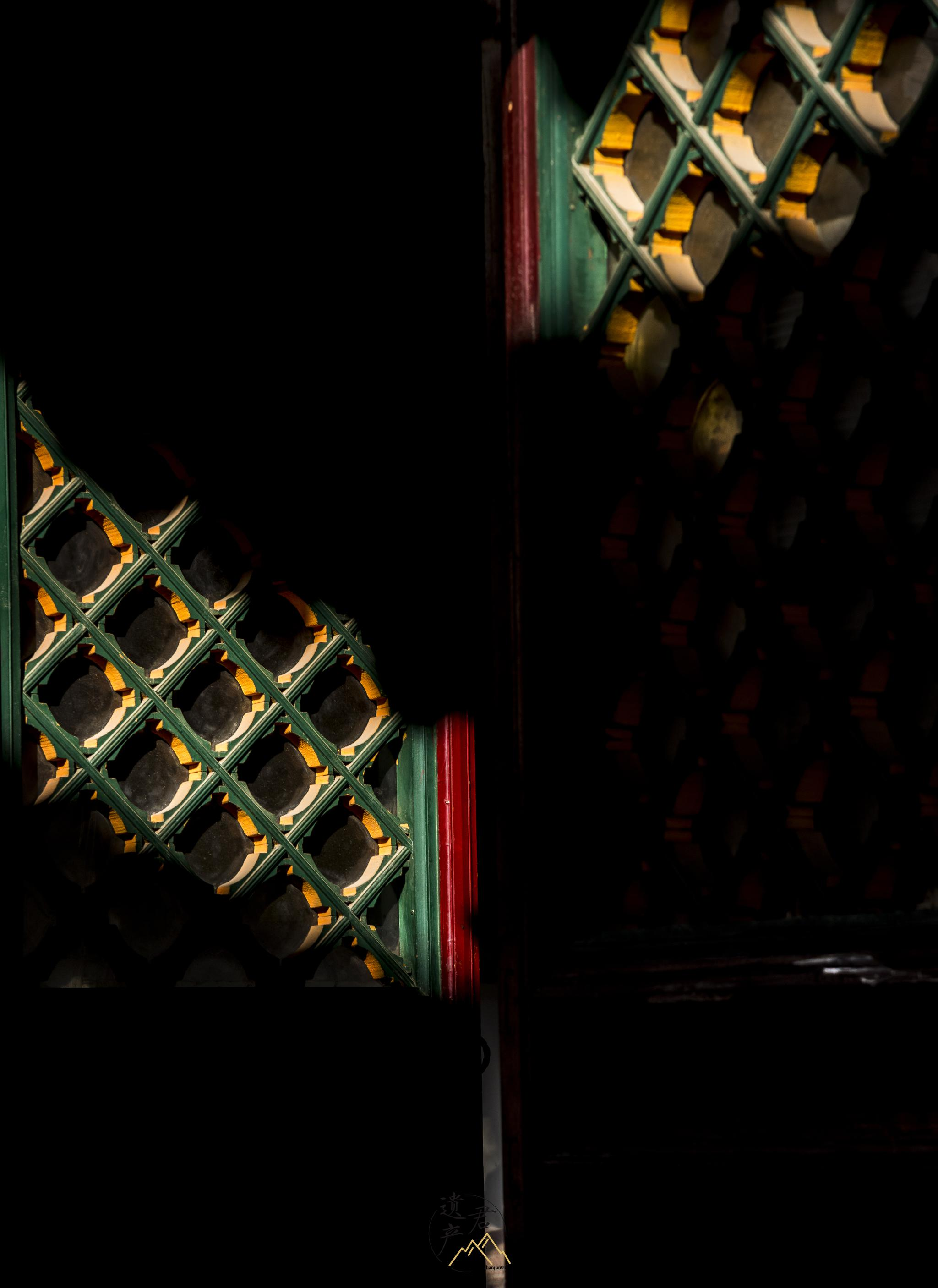 山西五台山古建筑的门窗之美
