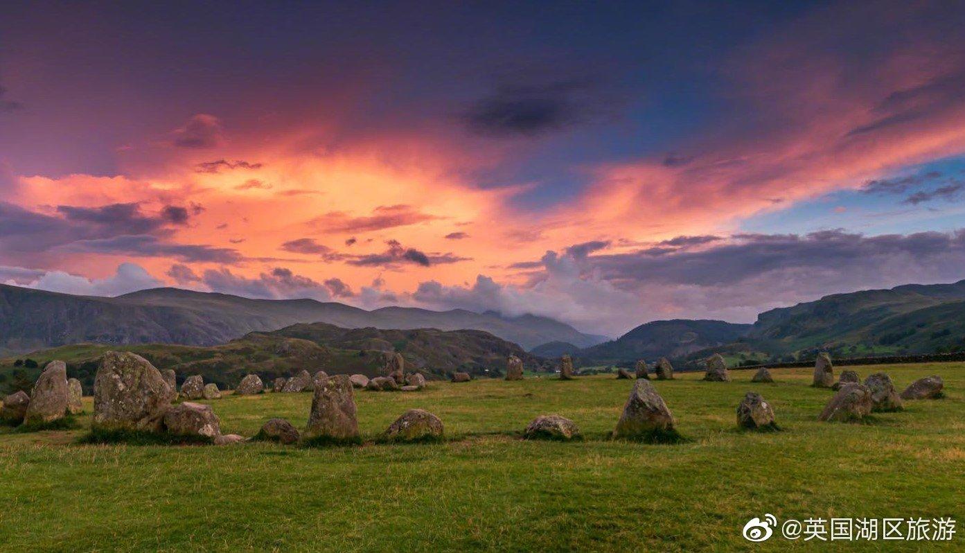 英国湖区有一个史前石阵——塞里格石圈(Castlerigg Stone Circle)