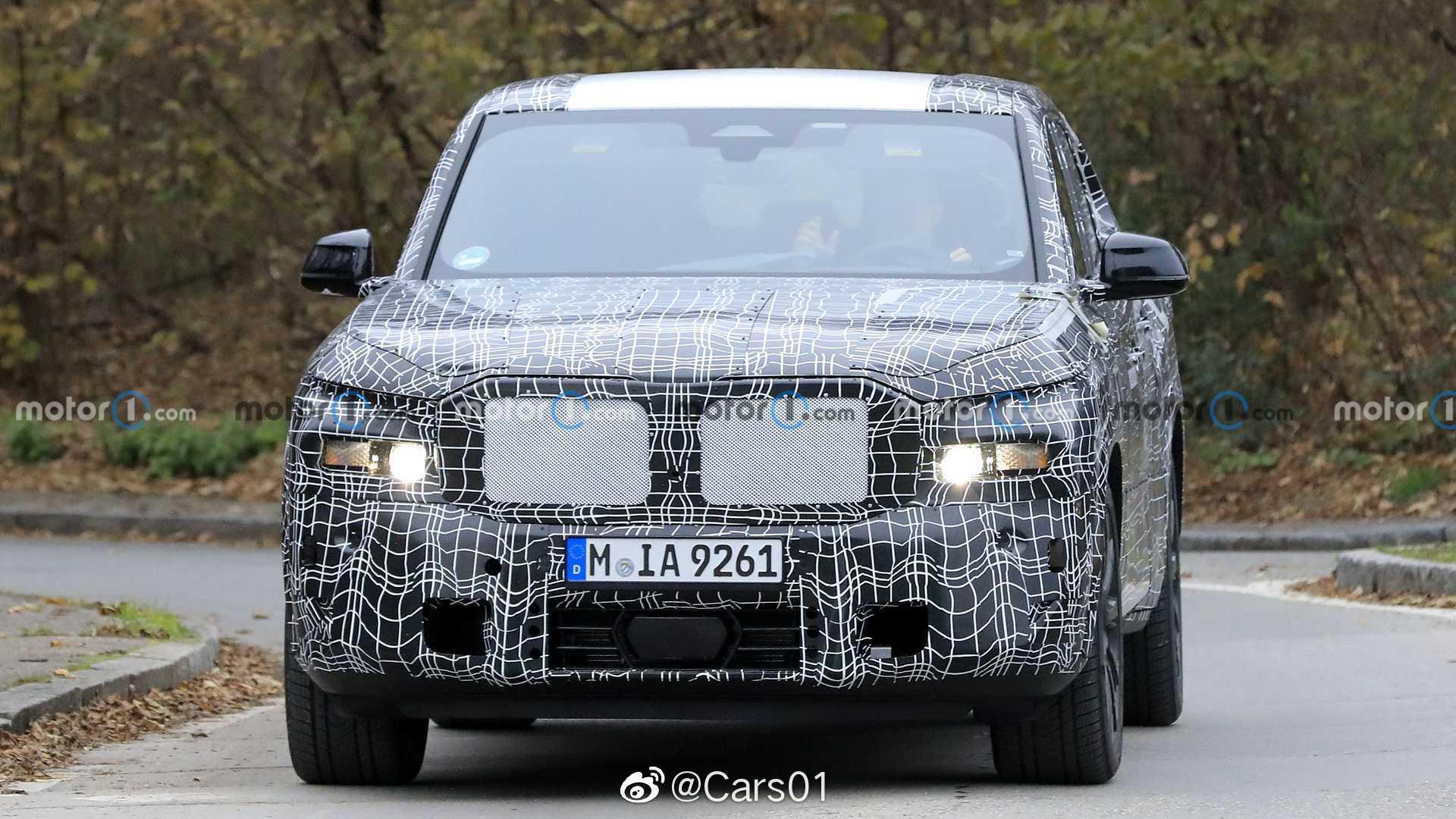 宝马X8最新路试谍照,新车将搭载混合动力,由4