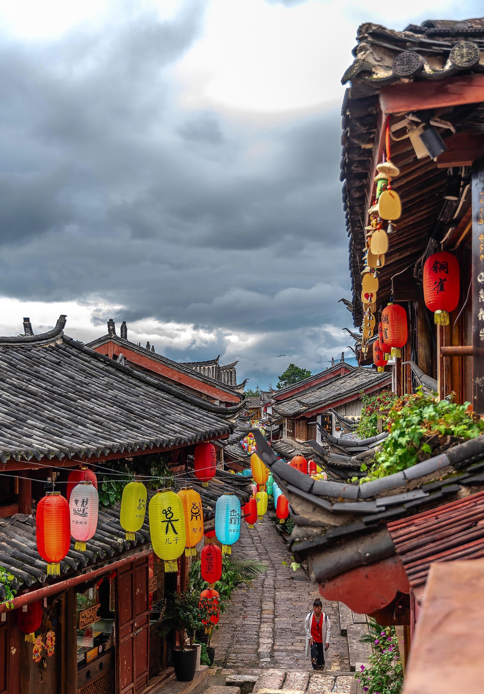 丽江古城,文艺爱好者的天堂。