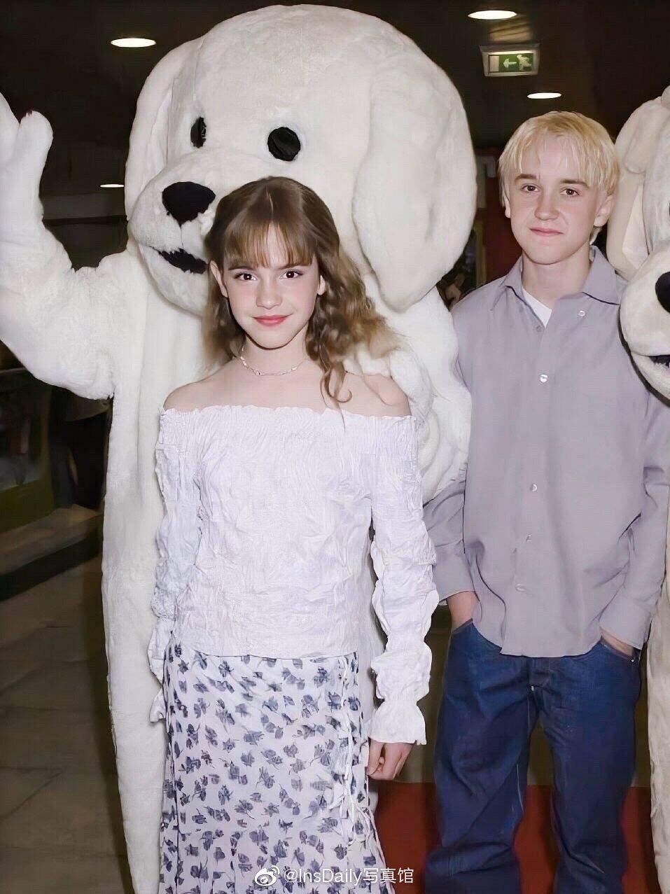 Emma Watson and Tom Felton ❤今日糖分加满