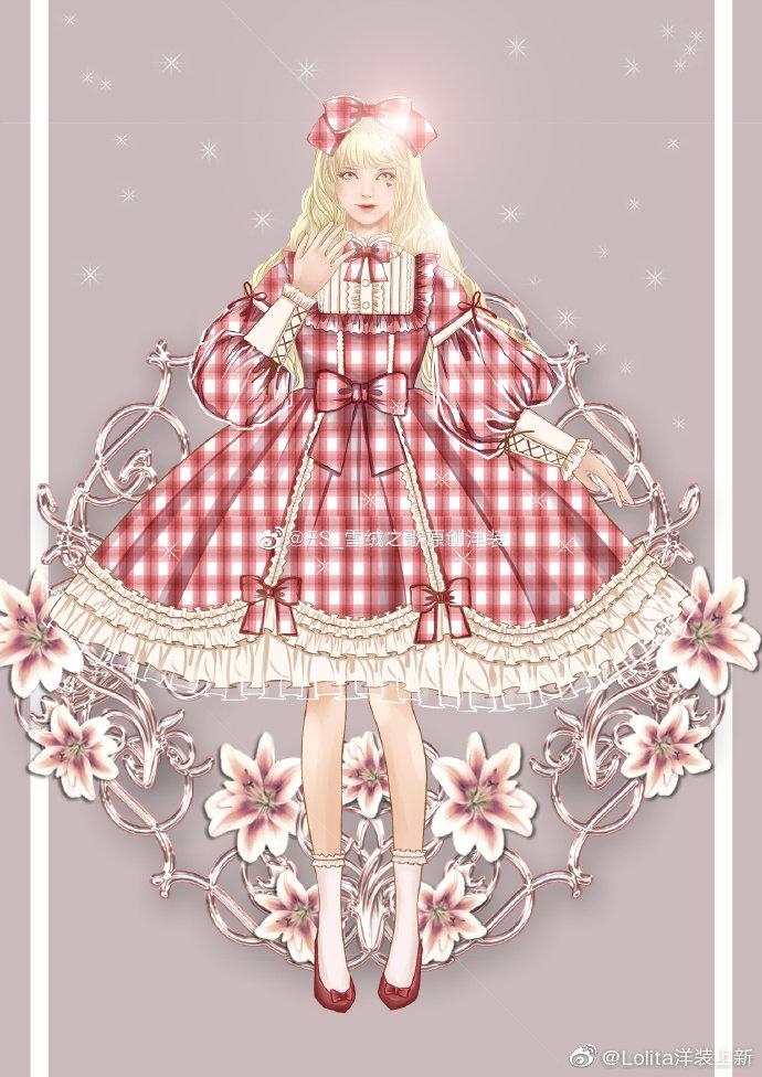 电阻:@ES_雪绒之歌原创洋装    裙子:辛德瑞拉图透