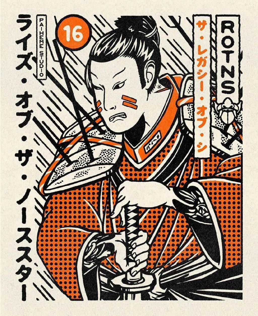 日式插画风海报作品欣赏~  :Paiheme Studio