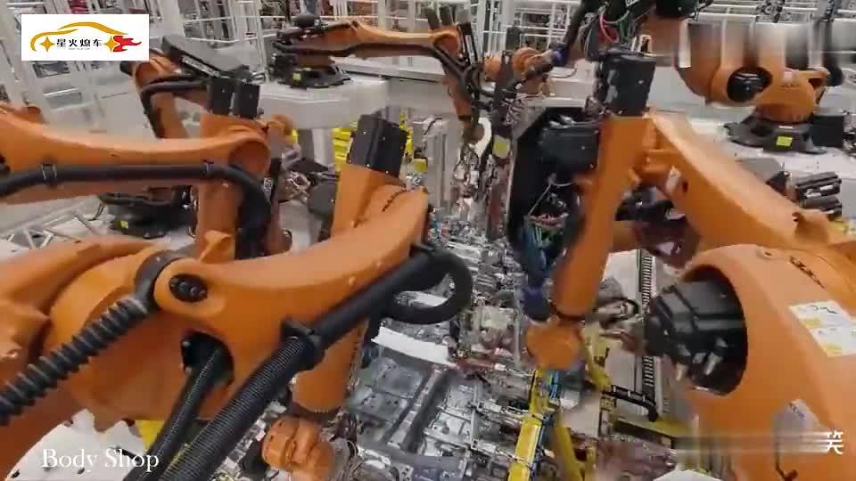 视频:直击德国工厂全新奔驰C级生产过程