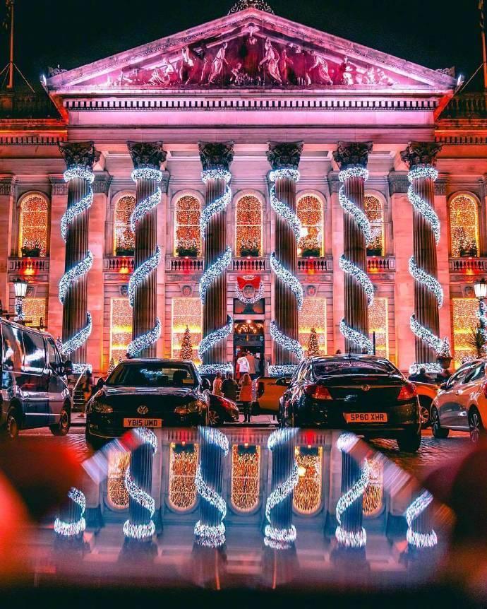 镜头下的伦敦之夜。