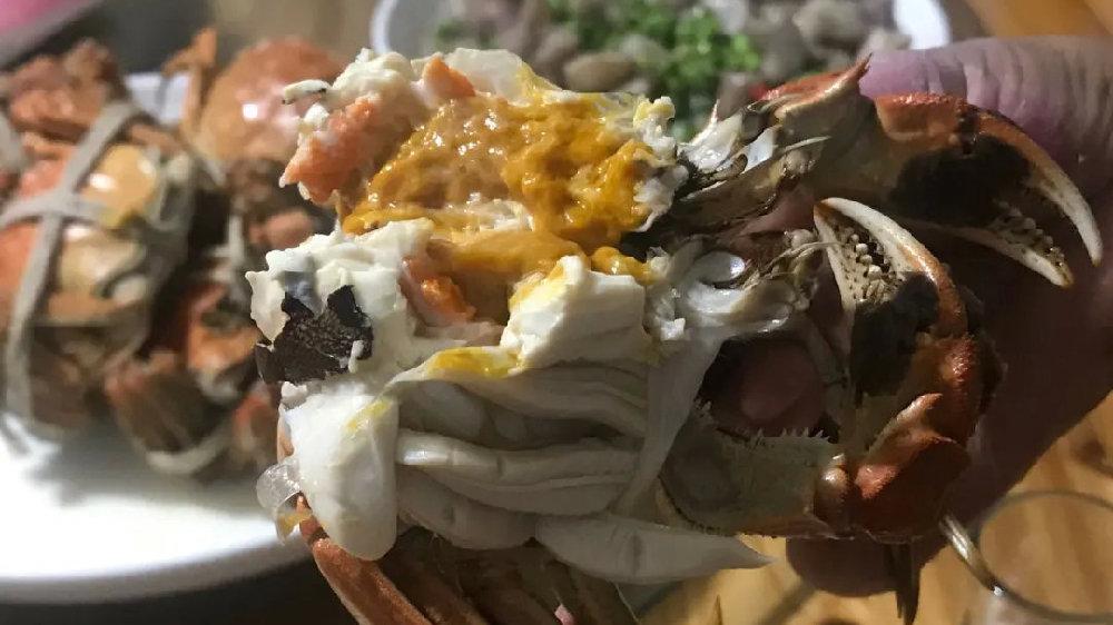 青浦太浦河大闸蟹开始登场,预计本月中下旬大批量上市