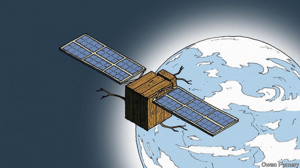 「经济学人」Space flight