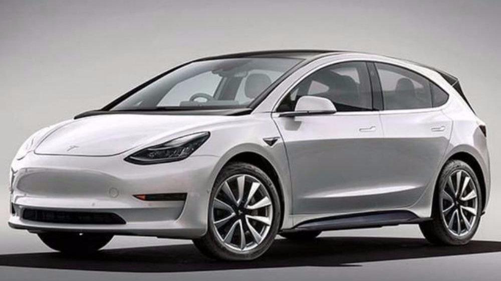 网传特斯拉将推出入门级新车