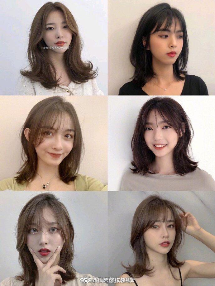 2020可盐可甜女生锁骨发型显脸小妆容