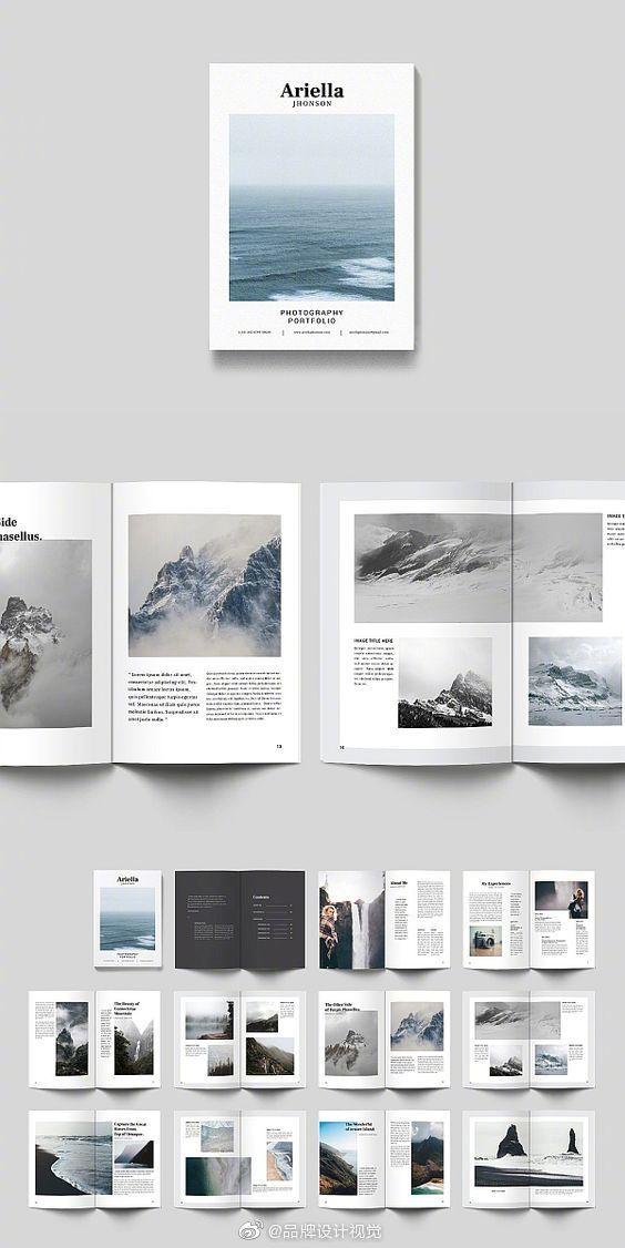 画册设计大合集!画册书刊的文字版式设计。