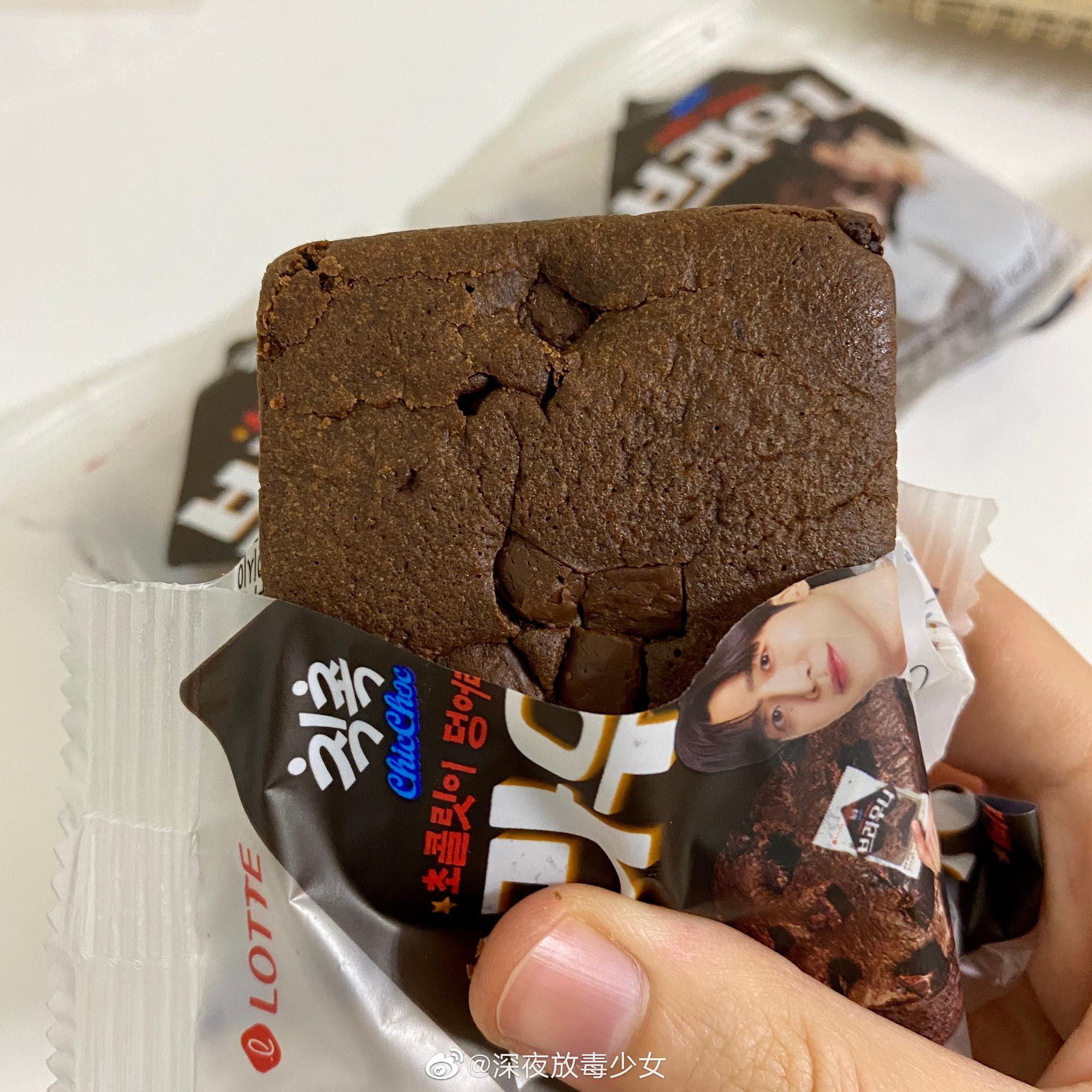 喜欢巧克力布朗尼的直接评➕