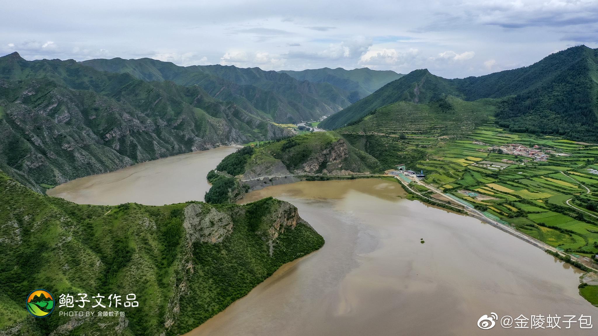 洛克之路,被称为中国最美100公里,起点卓尼扎古录镇,终点扎尕那