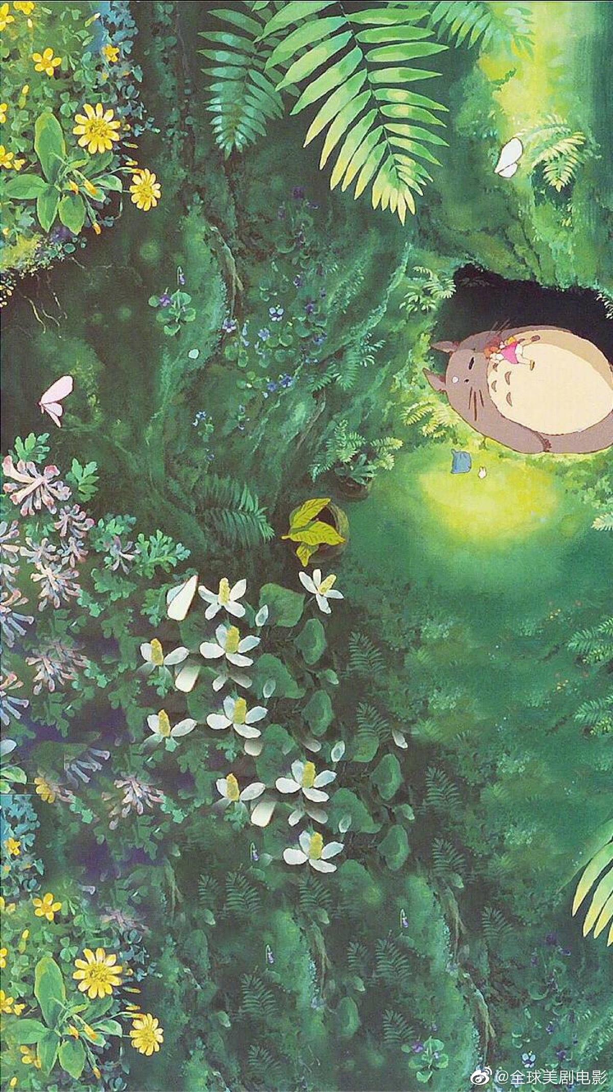 宫崎骏动漫里的夏天!心灵净土,童心永存!