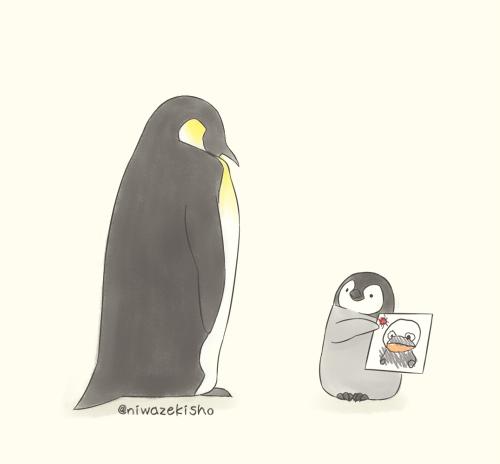 自学成才的插画家,将一只企鹅当成主角,温暖你我的心