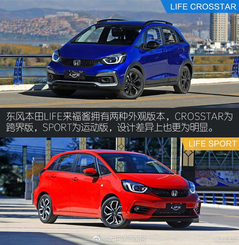 """东风本田推出的全新A0级车型LIFE拥一个元气满满的中文命名""""来福酱"""""""