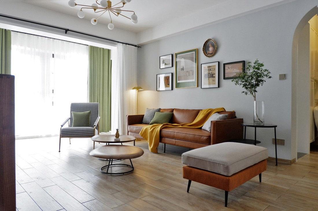 北欧极简风格住宅丨木和石空间设计家.让时光流淌
