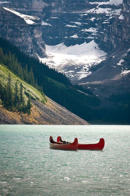 加拿大班夫国家公园——清鲜的空气,满目的针叶林