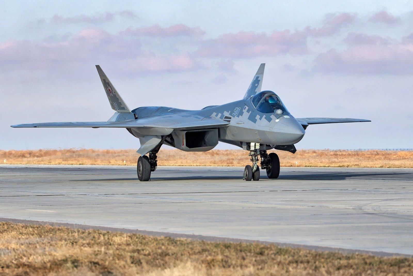 又挤牙膏放出来几张苏-57@Mk18_MOD1 @Armstrong的空军之翼 @彩虹熊_