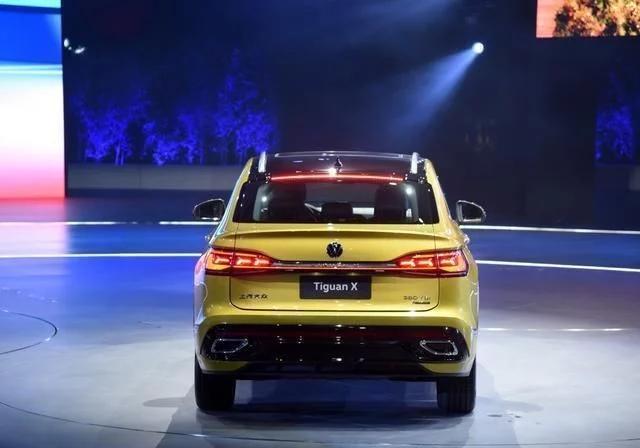 途观回归,新推轿跑版亮相,配兰博基尼尾灯,搭2.0T高低功率