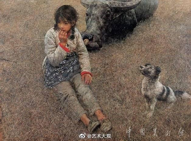 中国美术馆收藏绘画作品选摘