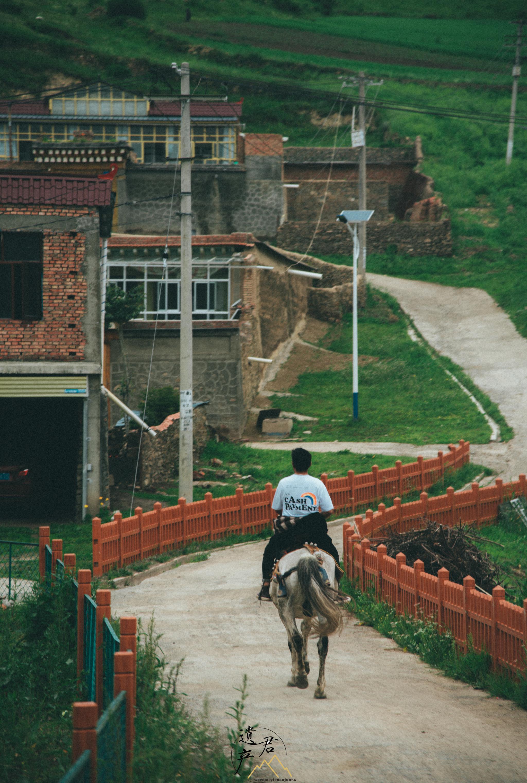 甘南藏区,路上的见闻