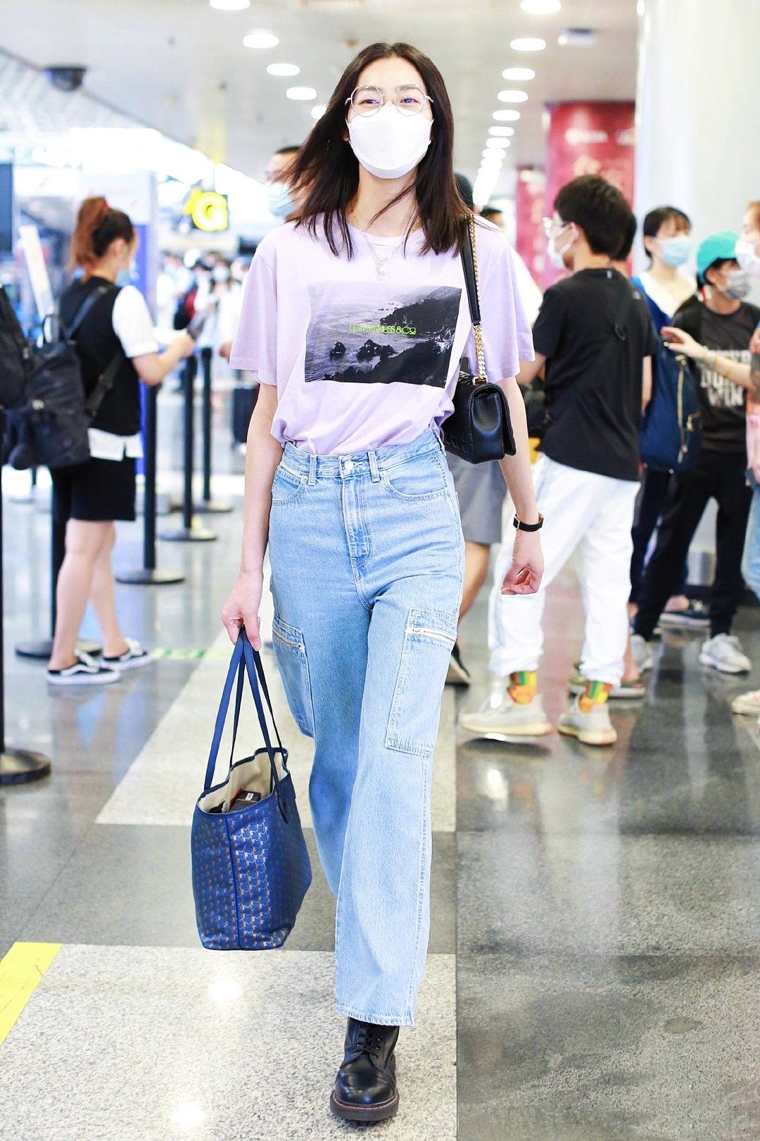 💜➕💙 昨天北京机场✈️好心情=好状态