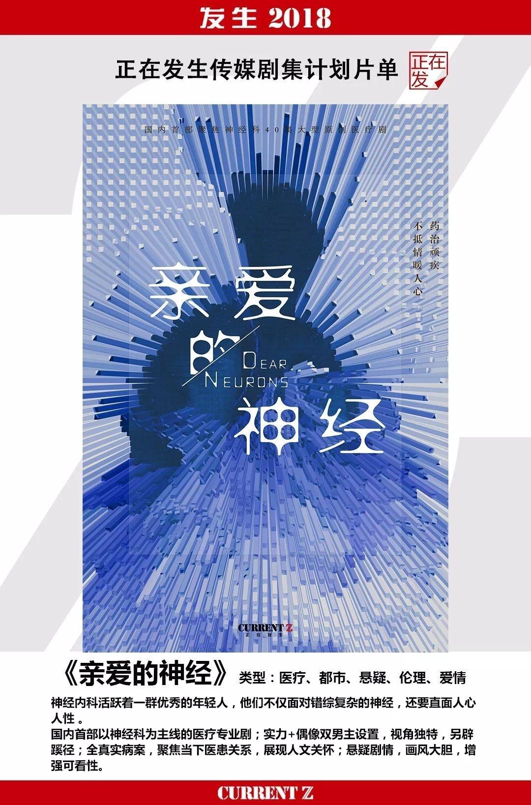 网曝邓伦出演医疗剧《亲爱的神经》,期待邓医生的剧中表现了