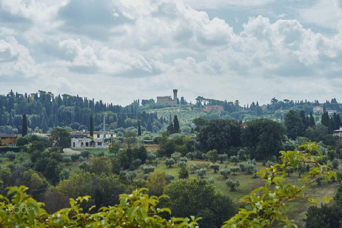 波波里庭院是享誉世界的古代罗马园艺花园之一。在十四世纪初期