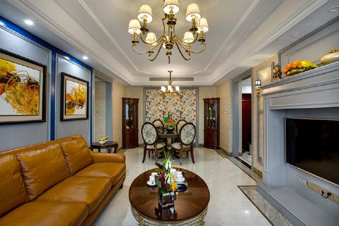 现代美式风格家居装修设计,雅致大气有格调的家!