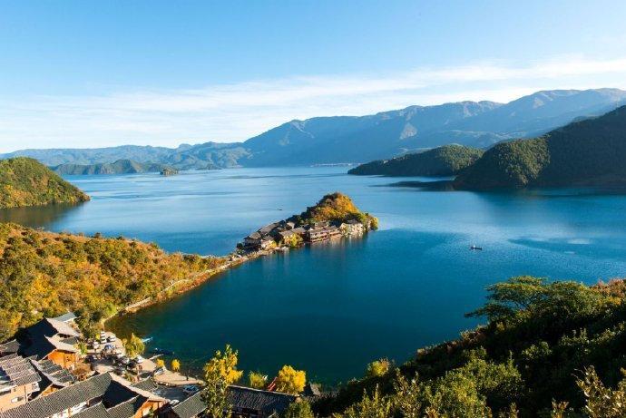 云南三大高原湖泊之泸沽湖,神秘的女儿国!