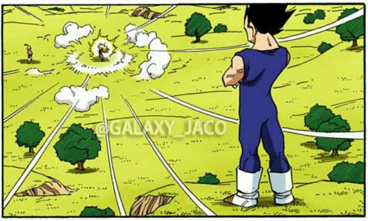 《龙珠》漫画全彩版 魔人布欧篇 第90话 贝吉塔与卡卡罗特