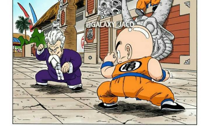 《龙珠》漫画全彩版 少年篇 第43话 谜一般的程龙