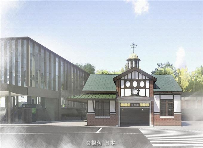 旅游:JR东日本7日公布,旧原宿站的解体工程将于8月24日开始