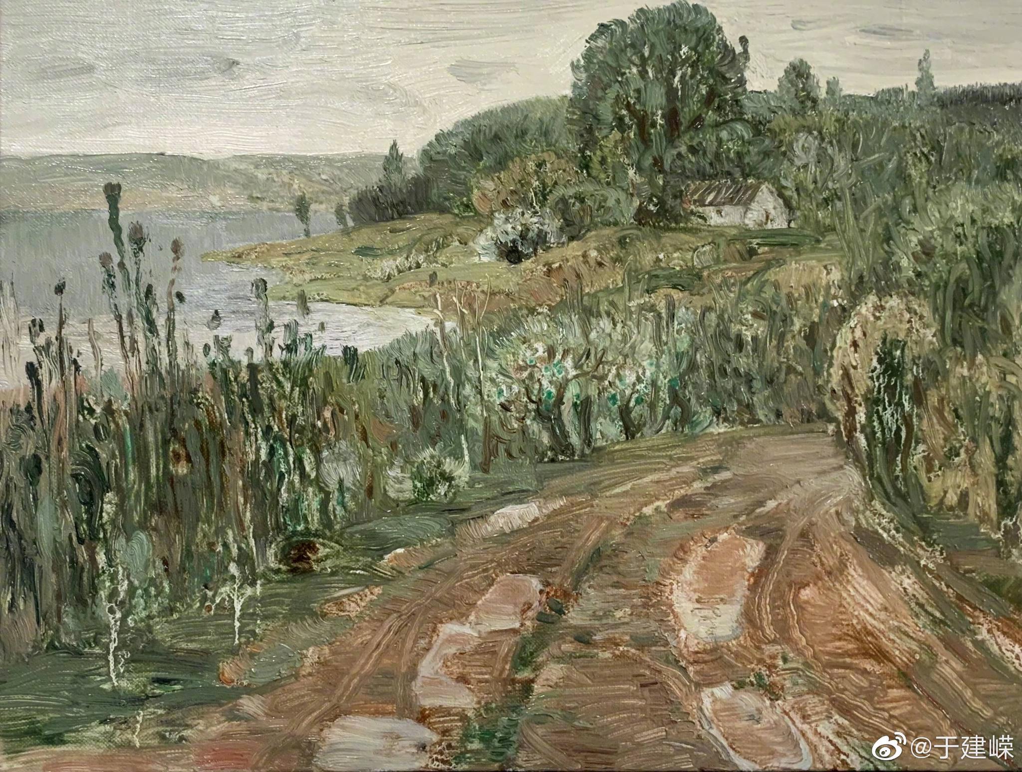 中国美术家协会会员、吴建陵教授的油画作,值得你收藏。