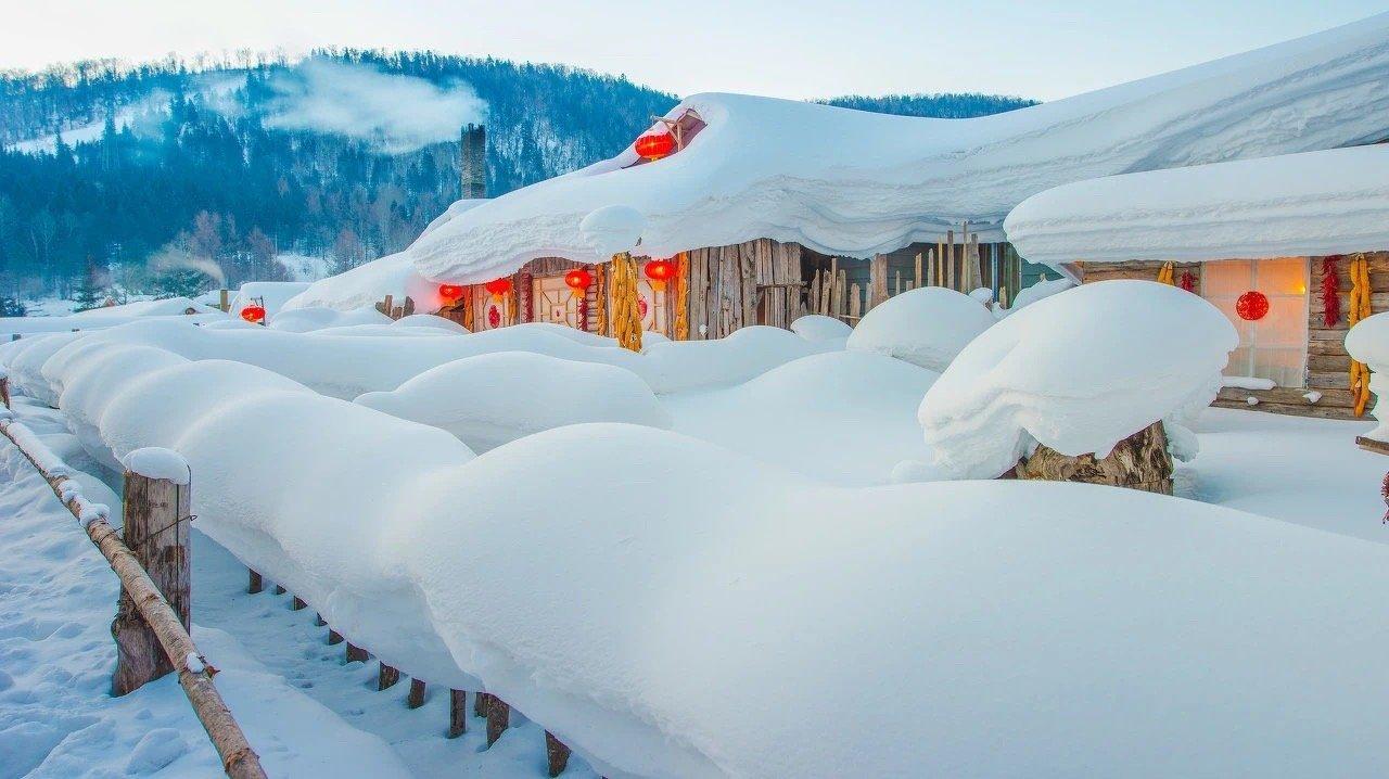 雪乡,棉花糖一样的童话世界