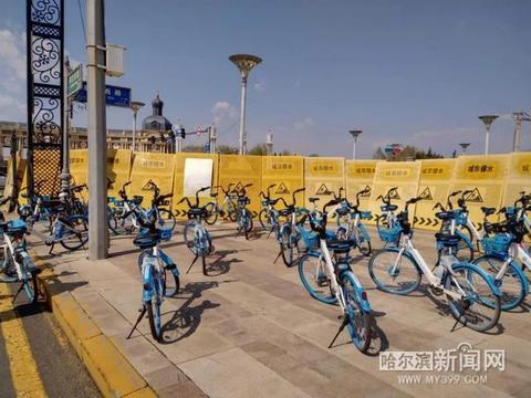 小蓝车街头乱停放?哈啰出行:105人管9.8万辆单车|将增加运维人员及技术管控力度
