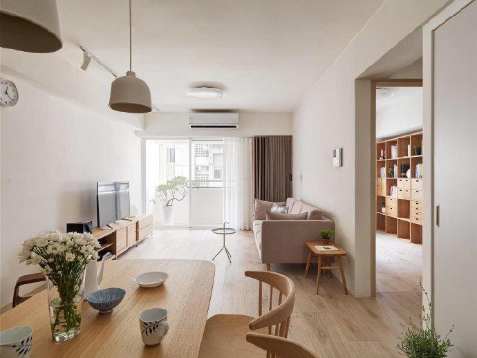 日式风格家居装修设计,自然木纹总是显得那么舒适温馨