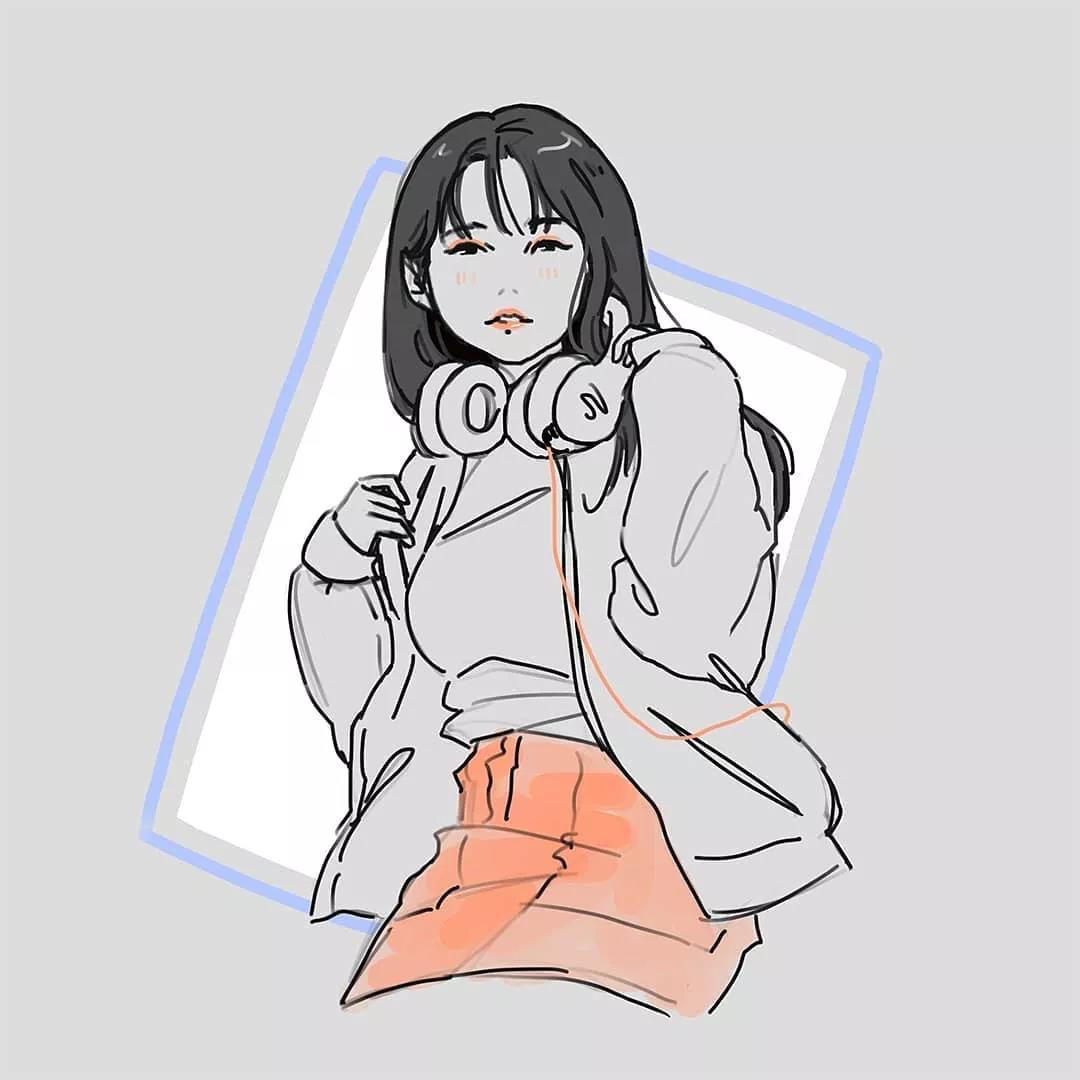 Jessica Luna插画作品