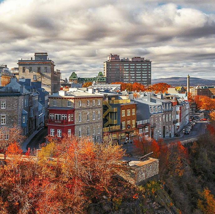 魁北克,美得像童话世界。