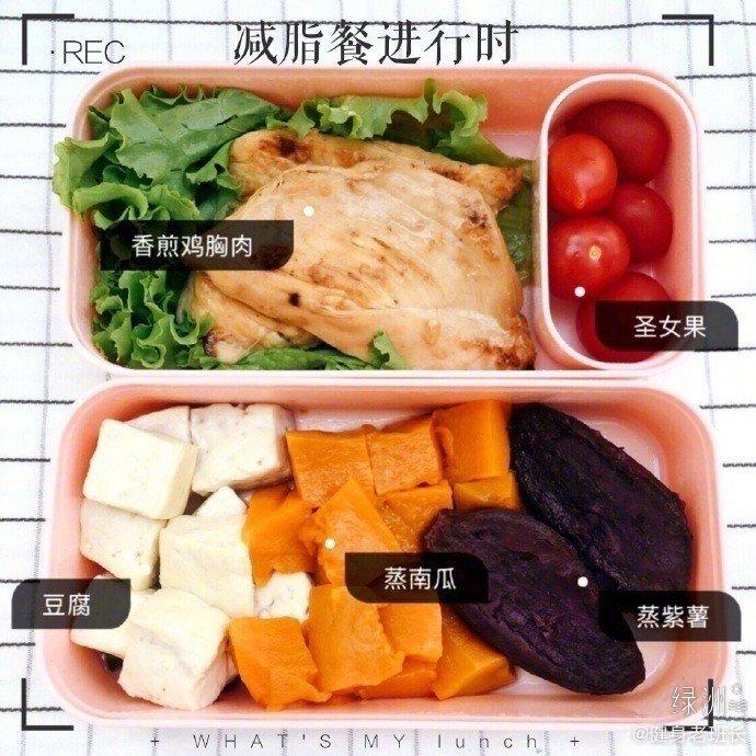 今日份的减脂餐食谱~好吃还减肥! (o゜▽゜)o☆