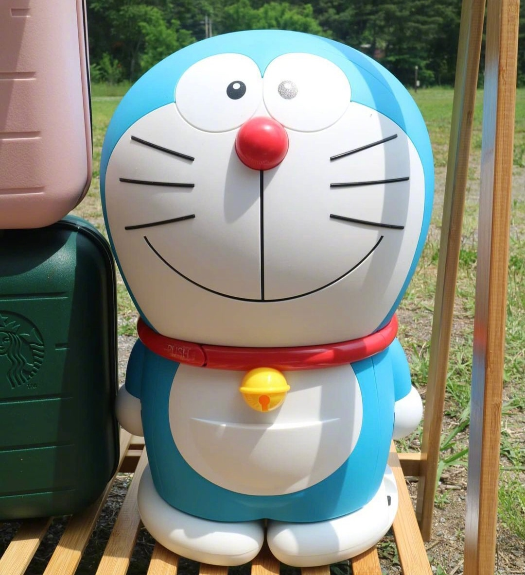 哆啦A梦小冰箱!!!太太太可爱了!