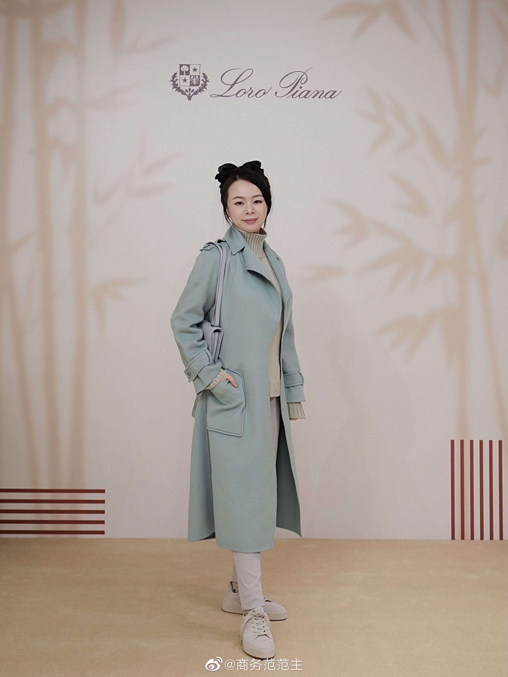 带老公去@LoroPiana 在SKP新开的男装店