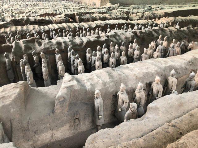 西安旅游必去景点,秦始皇陵兵马俑,一个历史的代表