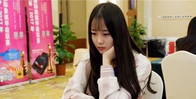 女神级国际象棋选手袁烨