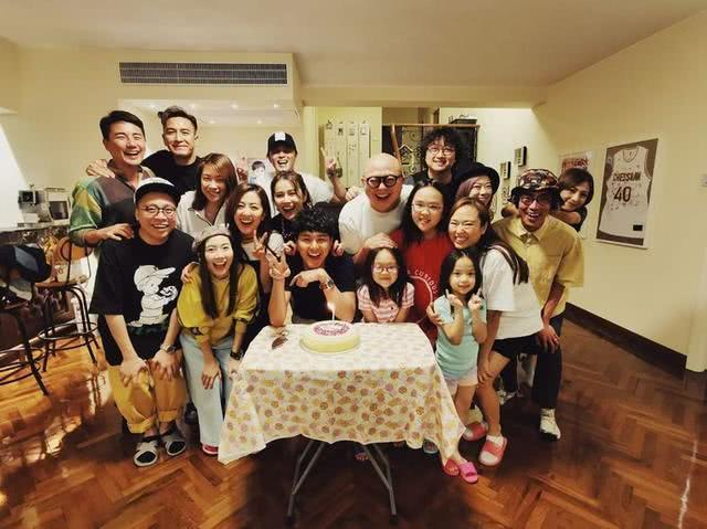 40岁TVB艺人林盛斌一人养四娃有意再生,月租十万豪宅交管家打理