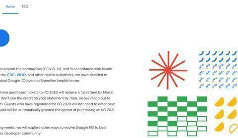 Google I/O 2020也掰了 因应疫情取消实体活动
