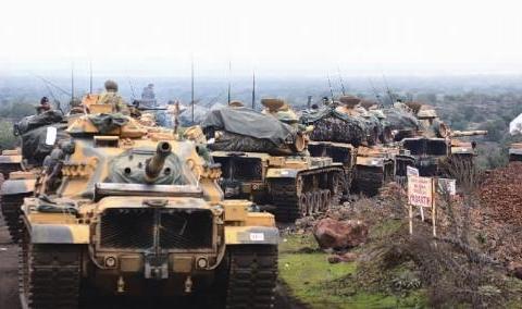 土叙上演激烈攻防战,红箭73摧毁大量豹II坦克,一夜间身价翻七倍