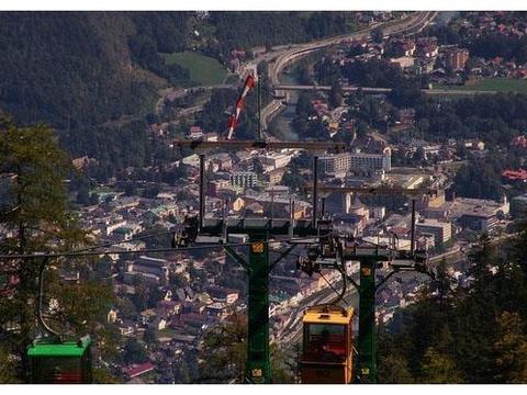 在奥地利打卡山水小镇,巴德伊舍小镇和哈尔施塔特小镇